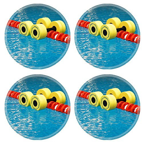Liili Natural Rubber Round Coasters IMAGE ID: 5720917 Flo...