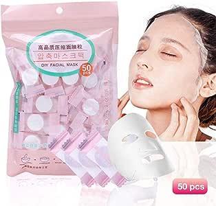 juman634 50 UNIDS DIY Máscara Comprimida Desechable Mascarilla ...