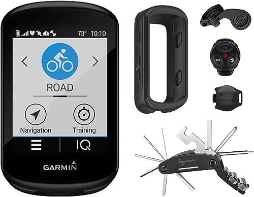 Garmin Edge 830 GPS Cycling Computer with Included Wearable4U Cycling Multi Tool Bundle