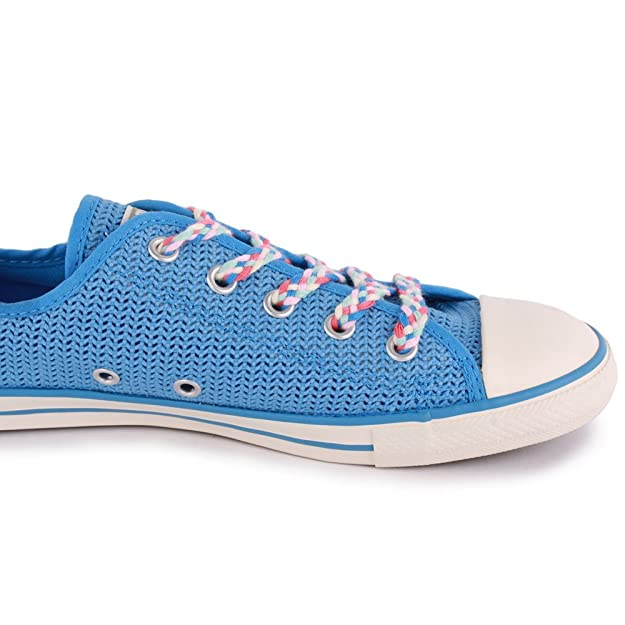 f5ead1aeb146 Converse Dainty Ox Summer Womens Mesh Trainers Blue - 5 UK  Amazon.co.uk   Shoes   Bags