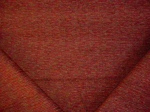 Mulberry / Brown Pinstripe / Rib Strie Chenille Designer Upholstery Drapery Fabric - By the Yard (Strie Stripe)
