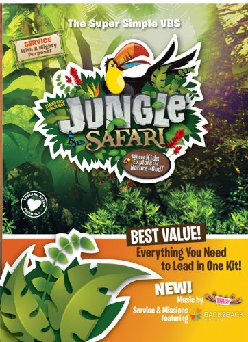 Super Simple Jungle Safari Kit (Vacation Bible School (VBS) 2014: Jungle Safari—Where Kids Explore the Nature of)