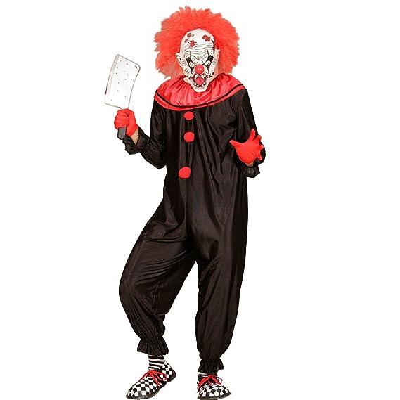 NET TOYS Disfraz Payaso Asesino - S (ES 48) | Traje Clown de ...