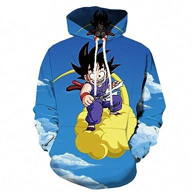 KYKU Sudadera con Capucha Azul Dibujos Animados Impresión En 3D Sudadera De Manga Larga Sudadera Suelta Anime Comfort, Azul, XXL: Amazon.es: Ropa y ...