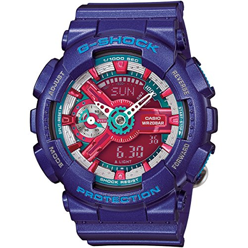 Casio G Shock Multicolored Quartz GMAS110HC 2A