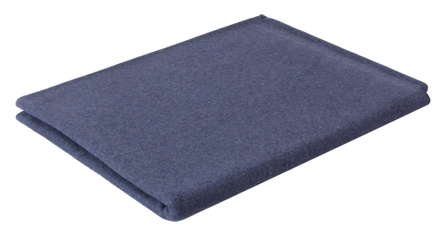 Rothco Wool Blanket, Navy Blue, 62'' x 80'' by Rothco