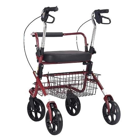 LXDDJZXQ Andador para Ancianos Walker, Andador con Ruedas ...