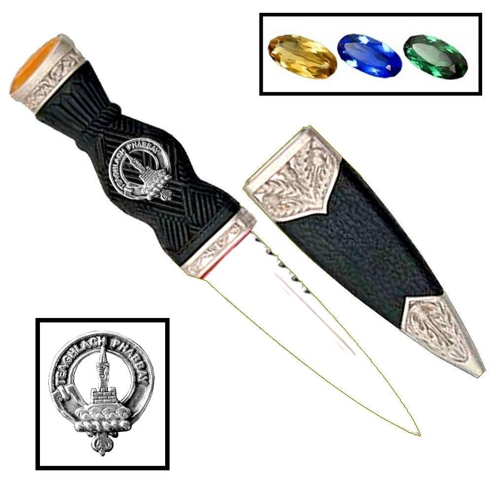 Scottish Clan Crest Sgian Dubh ~ Morrison