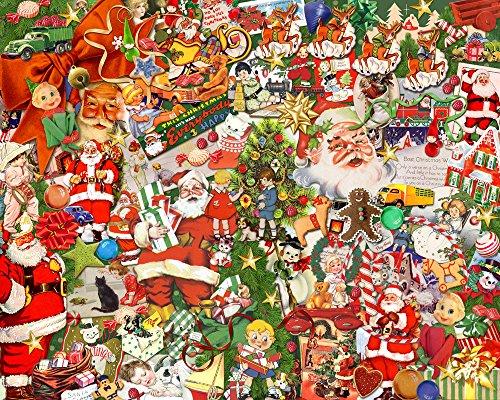 Vintage Christmas Jigsaw Puzzle 1000 (Vintage Christmas)