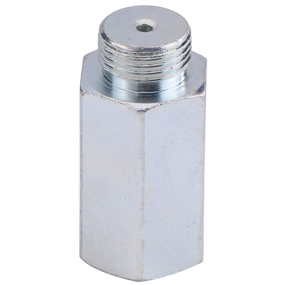 O2 Oxygen Sensor Spacer Extender Spacer for Decat Hydrogen Stainless Steel Lambda M18 x 1.5