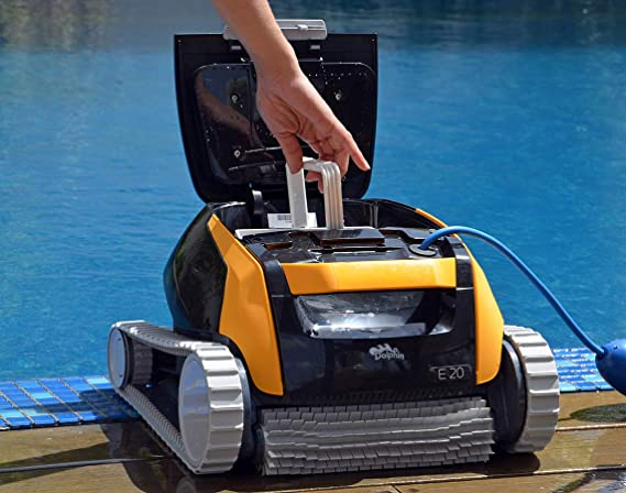 Robot para piscina Dolphin E10 / E20 / E25 completamente ...