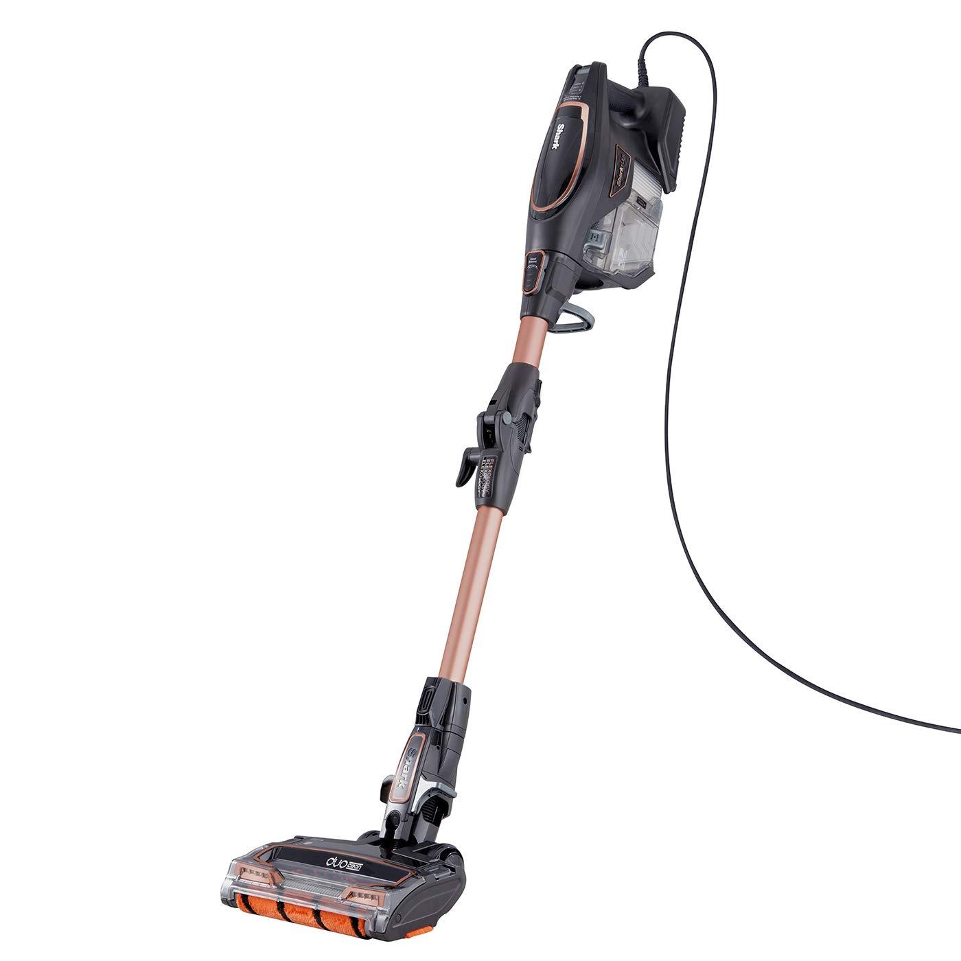 Shark Corded Stick Vacuum Cleaner [HV390UKT] Pet Hair, Lightweight, Rose Gold