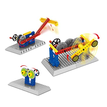 248bf9aa20fd Shooting Game Mechanical Gear Technic Building Blocks Engineering  Children s Science Educational STEM Toys