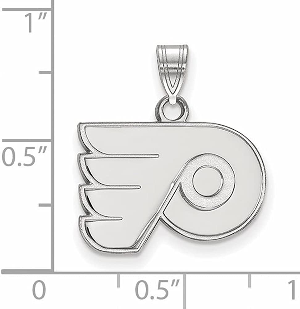Gold Plated Sterling Silver NHL New York Rangers Small Pendant by LogoArt