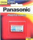 Panasonic Photo Power CR123 Lithium Batteries,