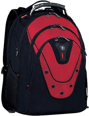 Compartiment rembourr/é pour ordinateur portable avec poche pour iPad//tablette en Rouge {23 Litres} WENGER 601687 IBEX 17 Sac /à dos