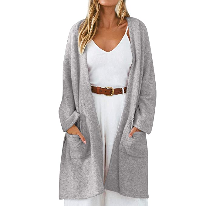 Linlink Abrigos Mujer Invierno Elegantes de Moda Abrigos de ...