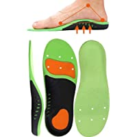 Arch Support Orthotic Insoles, YanYoung Flat Feet, Plantar Fasciitis Orthotic Inserts with Arch Sports Comfort Best…