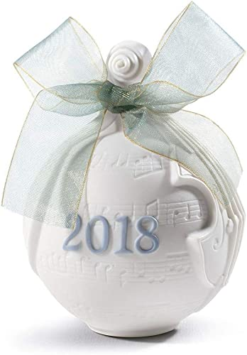 Lladro 2018 CHRISTMAS BALL 01018434 Limited by date Edt.