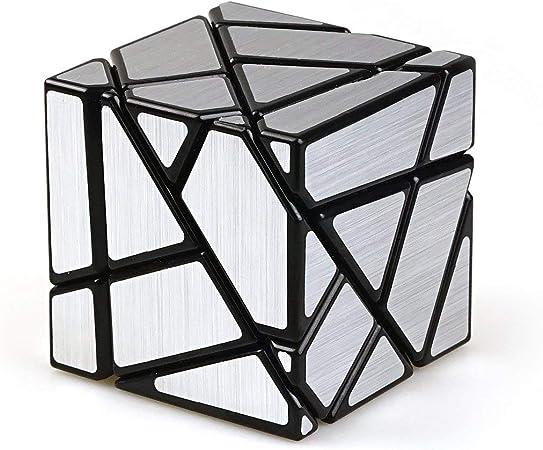 Cubelelo Ghost Cube Black (Silver Sticker)
