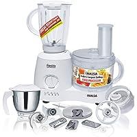 Inalsa Fiesta 650-Watt Food Processor (White/Grey)