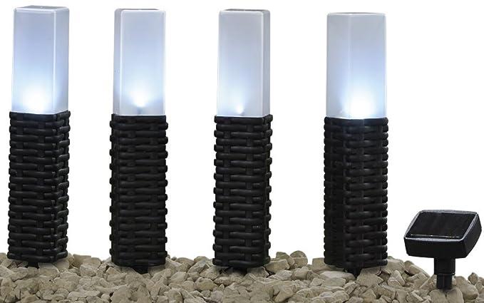 Tessuto resistente alle intemperie per esterni in rattan con luci