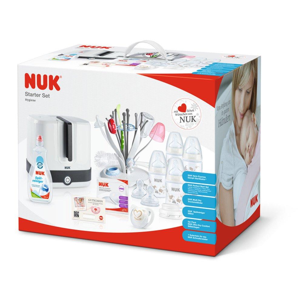 NUK Esterilizador Starter Set Higiene: NUK: Amazon.es: Bebé