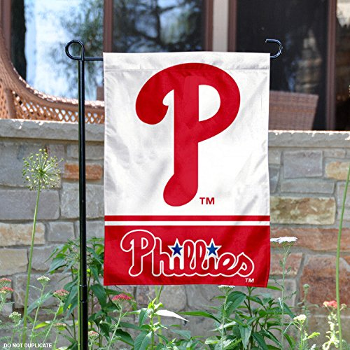 Philadelphia Phillies Double Sided Garden Flag – Sports Center Store
