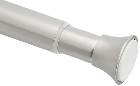 AmazonBasics Shower Adjustable Length Curtain Tension Rod