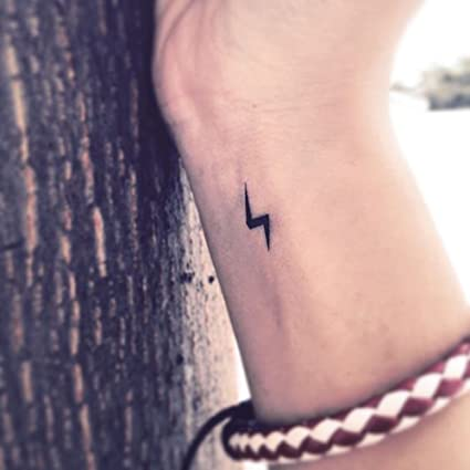 Tatuaje Temporal de Rayo (6 Piezas) - www.ohmytat.com: Amazon.es ...