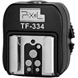 Pixel TF-334 Flash Hot Shoe Adapter for Converting Sony Mi to Canon/ Nikon Flash with PC port