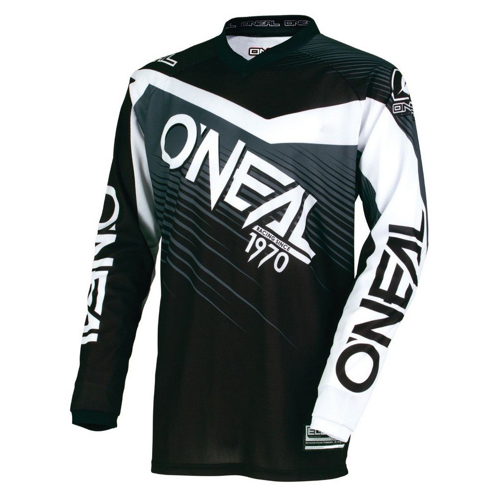 O'Neal 0006-105 Youth Element Racewear Jersey (Black/Gray, X-Large)