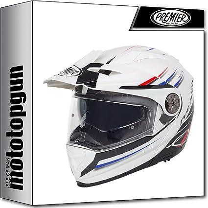 Amazon.es: MOTOTOPGUN Casco Premier Moto Modular Xtrail MO1 XL