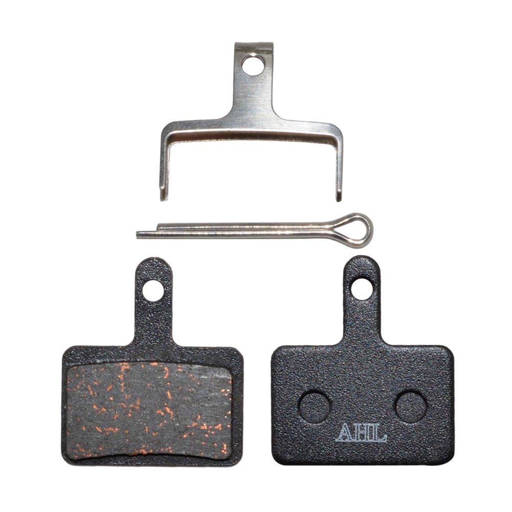 AHL Semi-Metallic Disc Brake Pads for Shimano M375 M395 M486 M485 M475 M416 M446 M515 M445 M525 Tektro Orion/Auriga Pro/Gemini