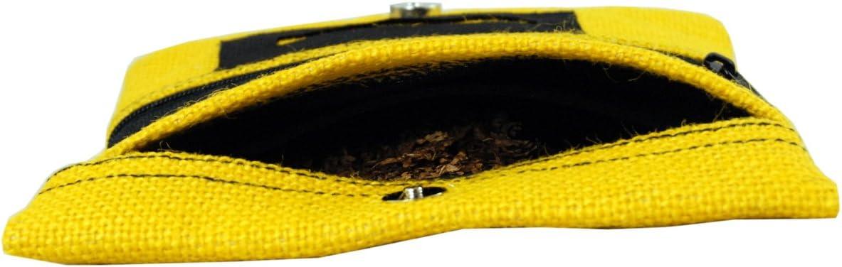 Plan B Blague /à Tabac Yolo Taxi 17,5 x 8,5 cm 50 GR de Tabac avec Poche en Caoutchouc EVA extractible Jaune