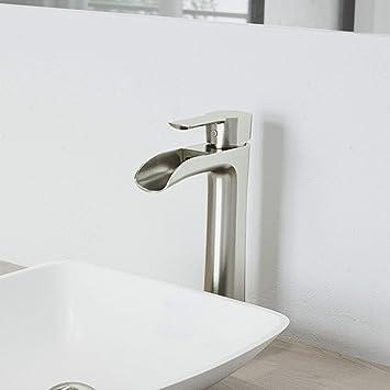 Vigo Vg03024bn Niko 8 Inch Single Handle Brush Nickel Bathroom
