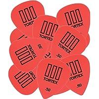 Dunlop 462P.50 Tortex® TIII, Red.50mm, 12/Player's Pack