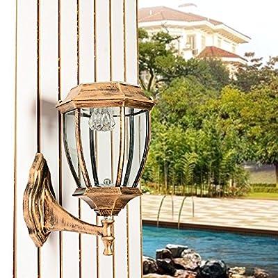 MEIREN Wall Light Sconce Lamp Lighting Outdoor Solar Led ,#1048
