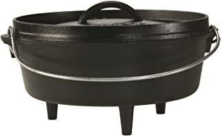 product image for Lodge Cast Iron Camp Dutch Oven, 4-Quart