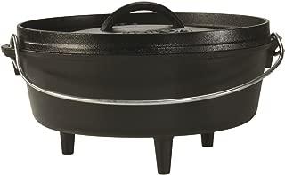 product image for Lodge Cast Iron Camp Dutch Oven, 4-Quart