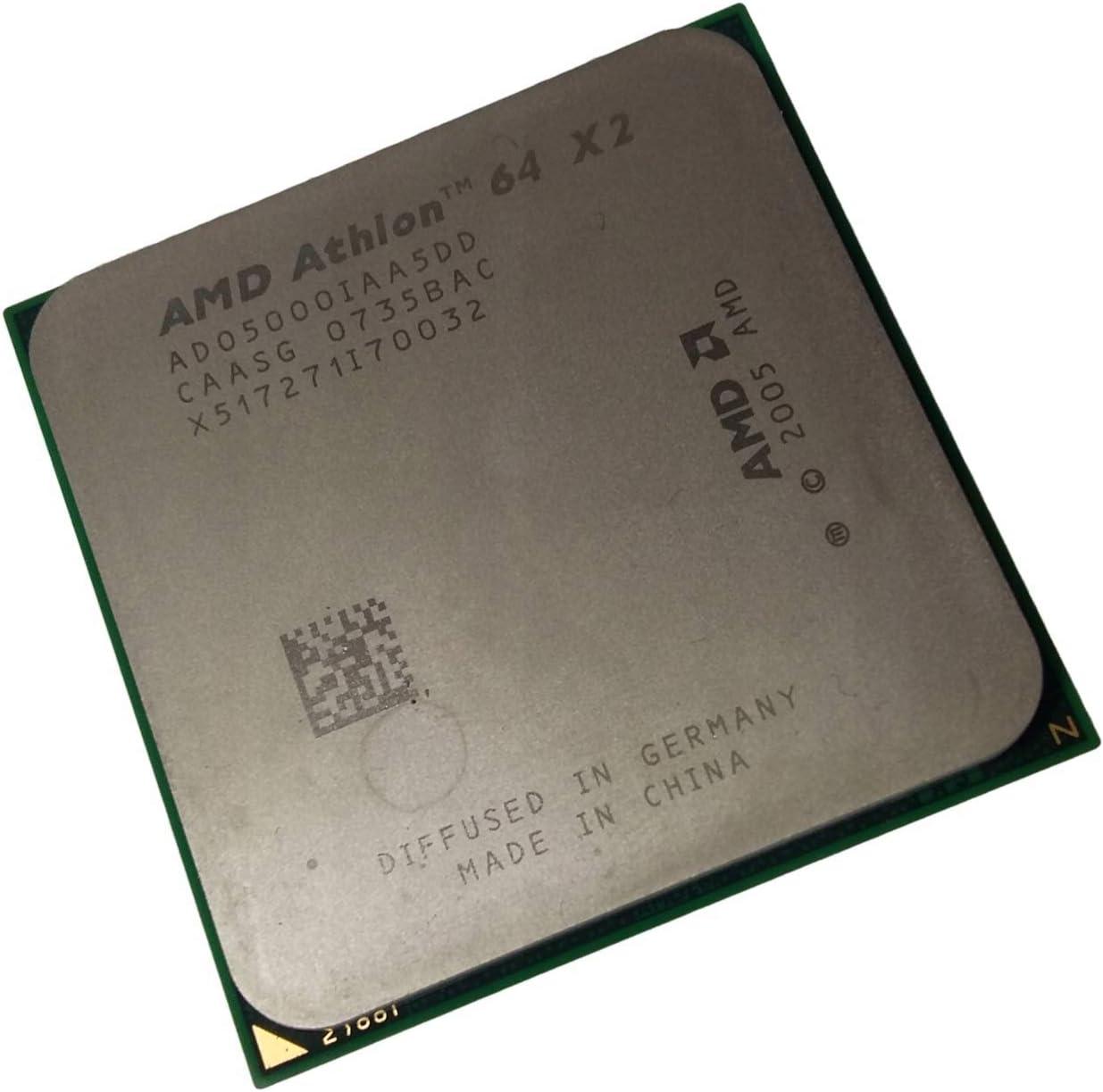 Amazon Com Amd Athlon 64 X2 5000 Am2 65w 2 6 Ghz Dual Core Cpu Low Wattage Ado5000iaa5do Computers Accessories