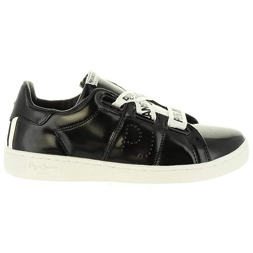 Pepe Jeans Brompton Laces, Zapatillas de Mujer: Amazon.es: Zapatos y complementos