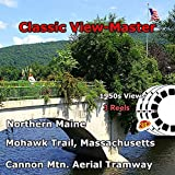 Massachusetts - Maine, Aerial Tramway, Mohawk Trail - Vintage Classic ViewMaster