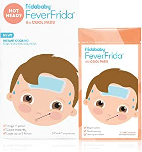 FridaBaby Cool pads for kids fever discomfort by fridababy, 5 Count