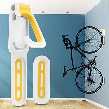 GeWu888 Wall Bicicleta Titular Gancho Soporte práctico MTB montaña de la Bicicleta de Almacenamiento Soporte de Montaje para Bicicletas (Color : Yellow): Amazon.es: Deportes y aire libre