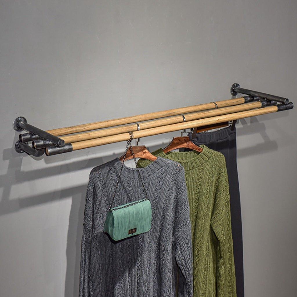 衣料品店木製の壁のハンガーサイドタオルラックのディスプレイラック壁の装飾ハンガー (サイズ さいず : 30*15.5*120cm) 30*15.5*120cm  B07KVRF8LB