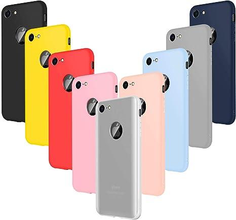 lot de 9 coques iphone 7