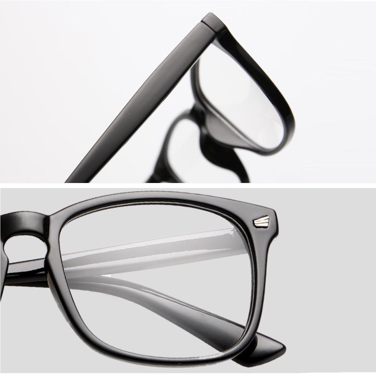 Cyxus Blue Light Filter Computer Glasses for Blocking UV Headache [Anti Eye Eyestrain] Transparent Lens, Unisex (Men/Women) (classic black) by Cyxus (Image #8)