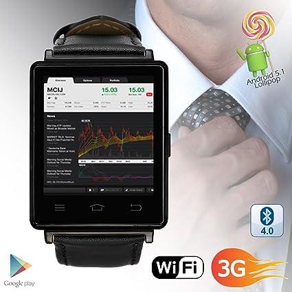 Amazon.com: Indigi 3G GSM Unlocked Smart Watch & Phone ...