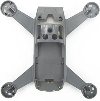 Opinión sobre Rantow para dji Reparación de chispas Accesorios de Repuesto Pieza de Repuesto Cuerpo Cubierta de Campana Cubierta Drone Marco Central